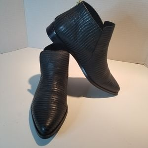 HOUSE OF HARLOW 1960  CHELSEA LEATHER BOOTS Sz. 9